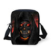Masculine Eye Catching Skull Messenger Bag