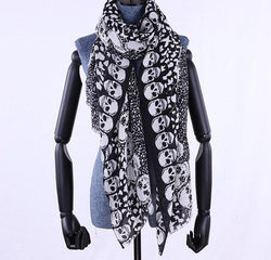 Women skull scarf for winter cotton high quality skulls !