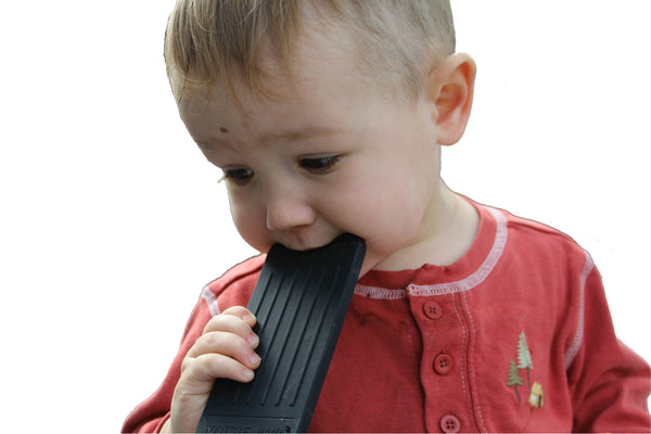 iPhone Shaped Baby Teething Toy In Black Color