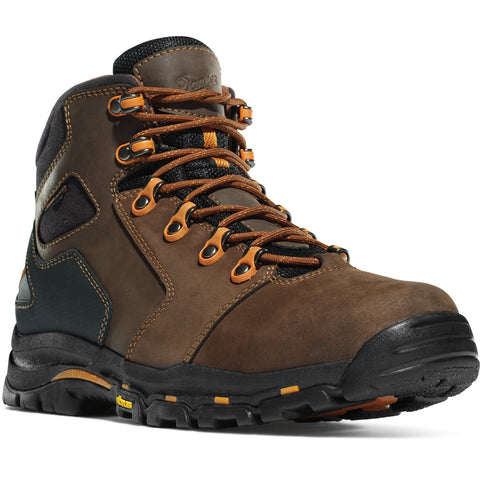 "Danner Vicious 4.5"" Brown/Orange Plaintoe"