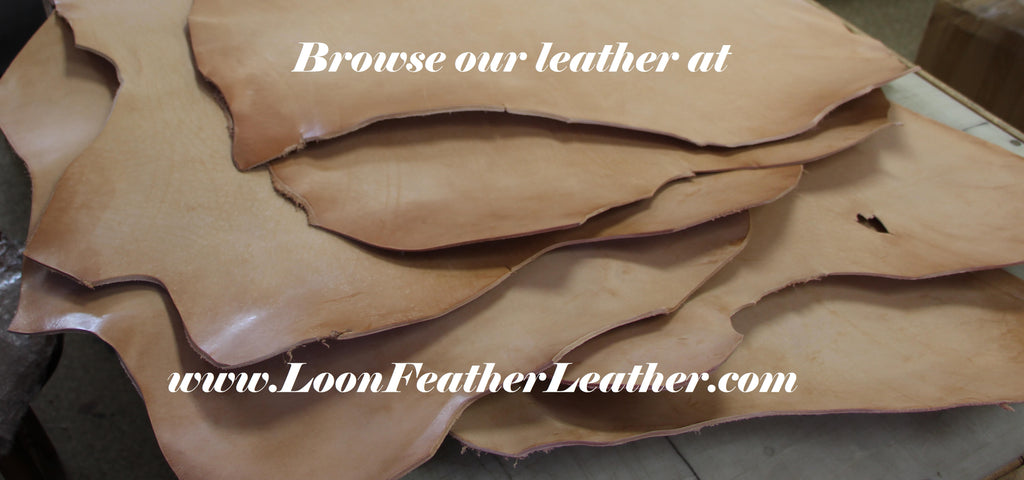 Browse our leather at www.loonfeatherleather.com