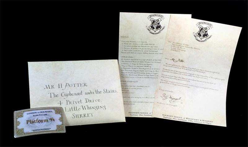 Hogwarts Acceptance Letter Package - Shopaholic
