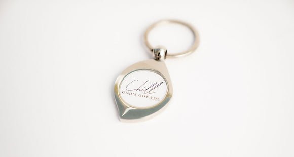 Chill God's Got You | Keychain