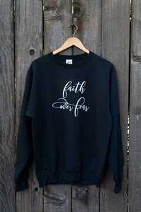 Faith Over Faith #3 | Crewneck Sweater