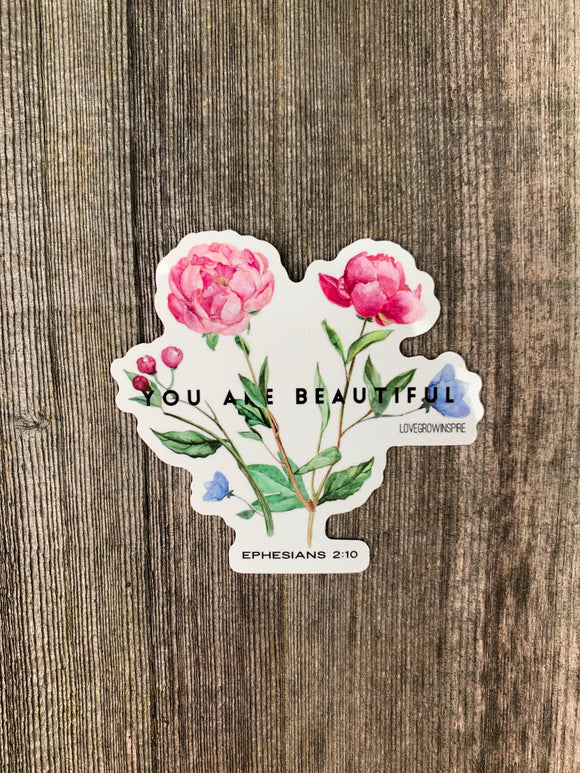 You Are Beautiful | Sticker