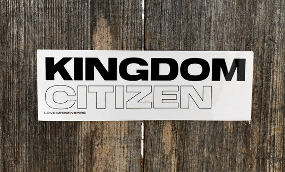 Kingdom Citizen | Sticker