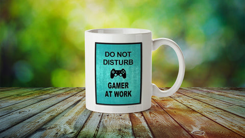 Do not disturb gamer at work Mug