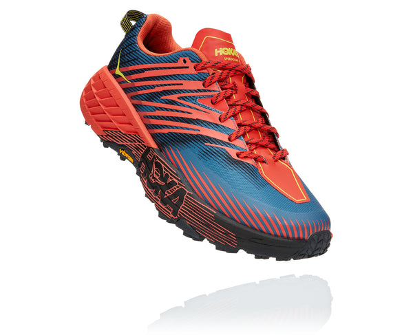 HOKA ONE ONE MEN'S SPEEDGOAT 4 Fiesta