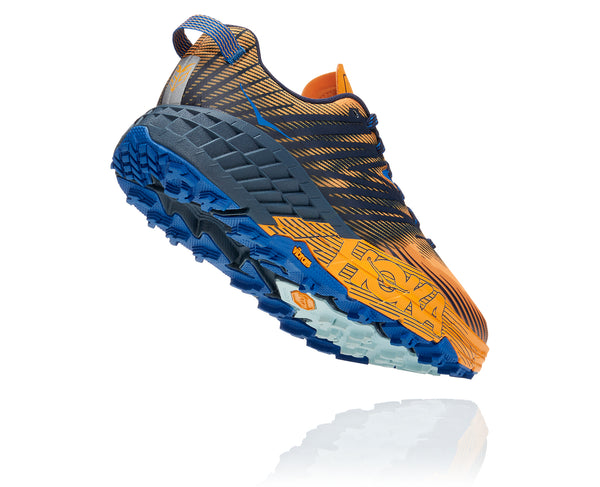 HOKA ONE ONE MEN'S SPEEDGOAT 4 Saffron