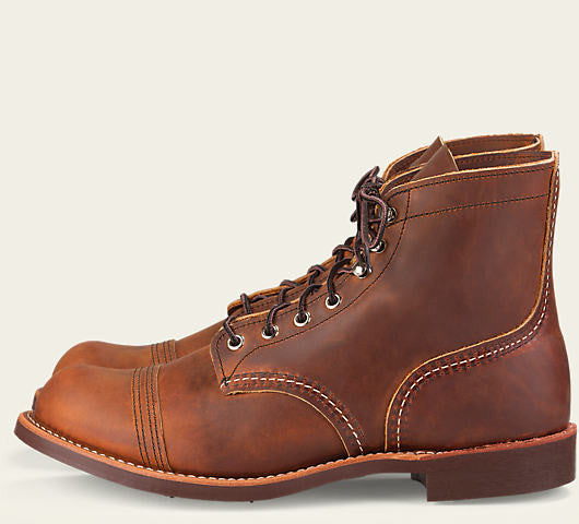 "Red Wing Iron Ranger Style NO. 8085 6"" Boot Copper Rough and Tough"