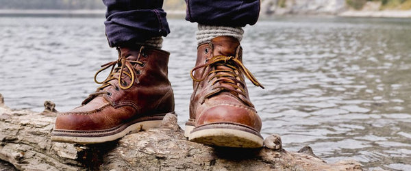 Red Wing Heritage Classic Moc 1907 Copper Rough and Tough