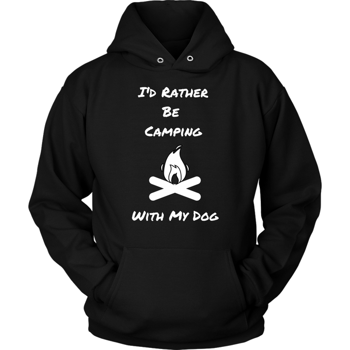 Rather Camping  Unisex Hoodie