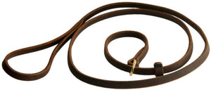 Leather Slip Lead - M&W CANINE SHOP