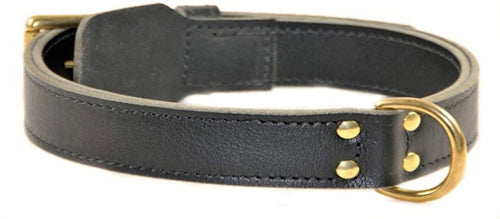Simplicity Leather Collar - M&W CANINE SHOP