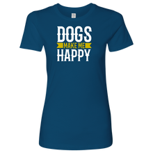 Load image into Gallery viewer, Dogs Make Me Women's Shirt