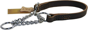 Leather Martingale Collar - M&W CANINE SHOP