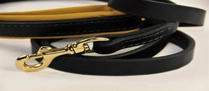 Soft Touch Leather Leash - M&W CANINE SHOP