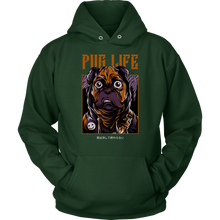 Load image into Gallery viewer, Pug Life Unisex Hoodie