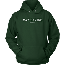 Load image into Gallery viewer, M&W Canine Hoodie Unisex - M&W CANINE SHOP