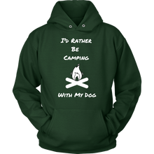 Load image into Gallery viewer, Rather Camping  Unisex Hoodie