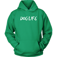 Load image into Gallery viewer, Dog Life Unisex Hoodie