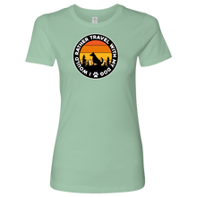 Load image into Gallery viewer, Travel  W/Dog Women's Shirt