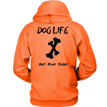 Load image into Gallery viewer, Dog Life Play Unisex Hoodie