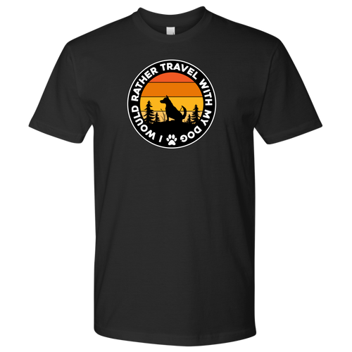Travel With Dog Men's Shirt