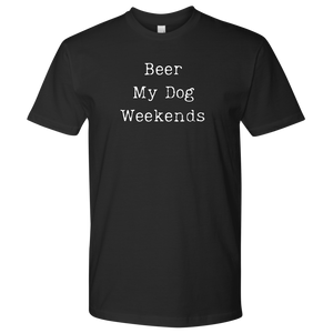Beer & Weekends Men's Shirt - M&W CANINE SHOP
