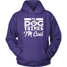 Load image into Gallery viewer, Dog Thinks Hoodie-Unisex