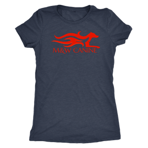 M&W Canine Women's Shirt - M&W CANINE SHOP
