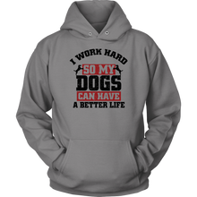 Load image into Gallery viewer, I Work Hard Hoodie Unisex Hoodie