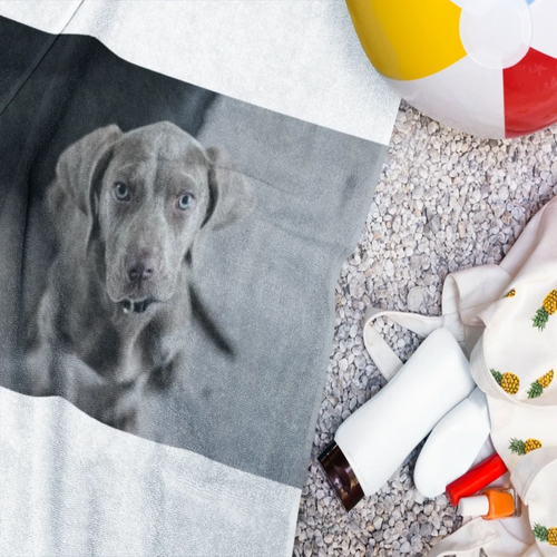 Personalized Beach Towel - M&W CANINE SHOP