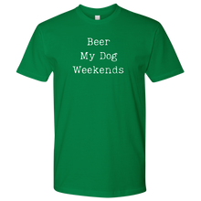 Load image into Gallery viewer, Beer & Weekends Men's Shirt - M&W CANINE SHOP
