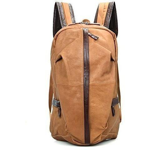 Leather Backpack Clean Vintage