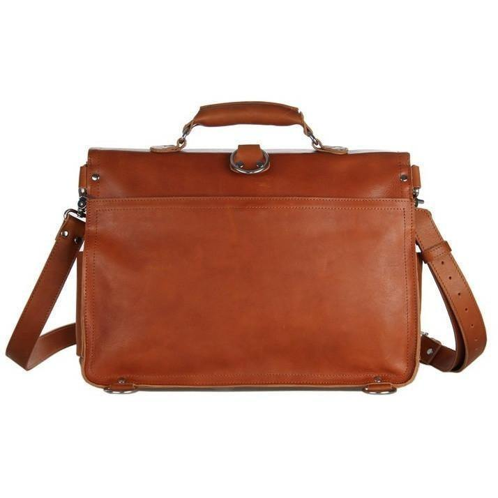 Hybrid Briefcase Backpack, Tanned Leather (Edition 1.1)