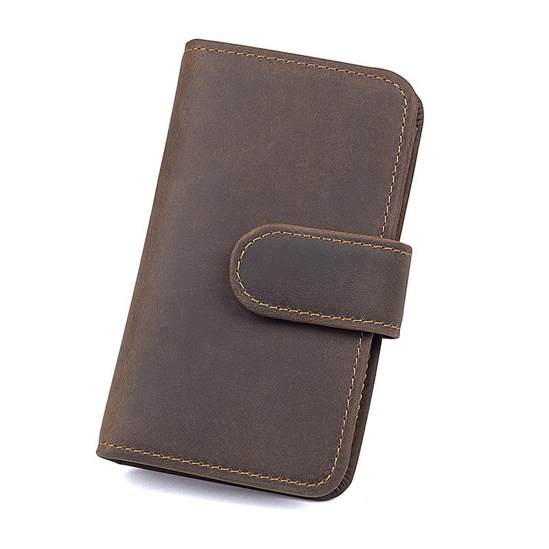 Genuine Leather Wallet RFID Purse Clean Vintage