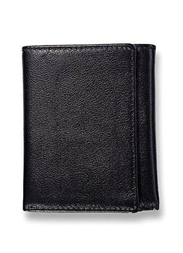 RFID Blocking Security Wallets For Men- Trifold Extra Capacity Leather Wallet