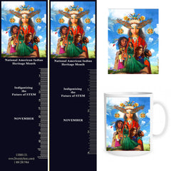 Native American Buttons, Bookmarks, Mugs & Magnets