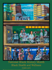 Black History Month Theme Posters