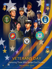 Veterans Day Posters, bookmarks, mugs, and magnets
