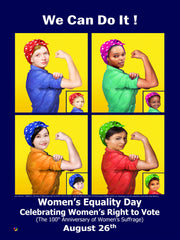 Women's Equality Day Posters
