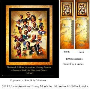 Item# B15ASET National African American History Month A Century of Black Life, History and Culture