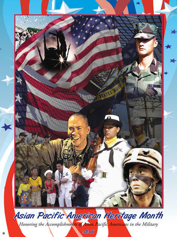 Item# AP02 Honoring the Accomplishments of Asian Pacific Americans in the Military  ..(GSA)