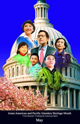 Item# AP14v3 Asian American and Pacific Islander Heritage Month, Evoking..OM