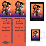 Item# AP17 Buttons, Bookmarks, Magnets, Key Chains & Mugs ..OM -  DiversityStore.Com®