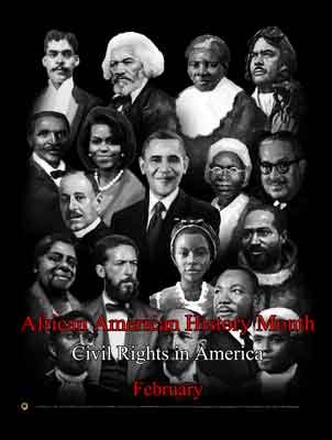 Item # B14A African American History Month Civil Rights in America (GSA) -  DiversityStore.Com®