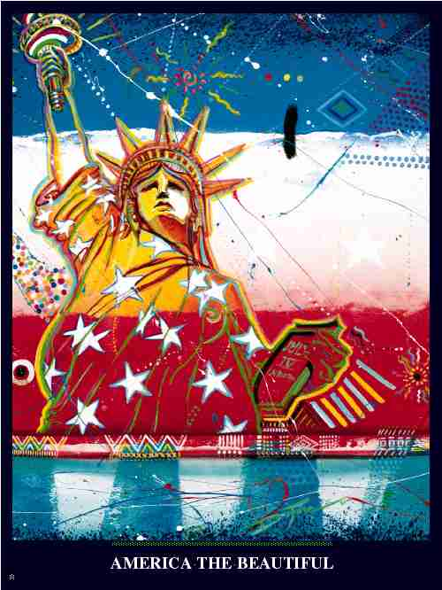 Item# DV01 Diversity - America the Beautiful Poster..(GSA)