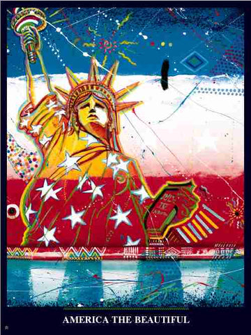 Item# DV01 Diversity - America the Beautiful Poster..(GSA) -  DiversityStore.Com®