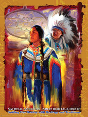 National American Indian Heritage Month Guiding  ..OM -  DiversityStore.Com®